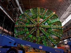捷太格特(JTEKT)的转盘轴承被日本最大隧道盾构机采用