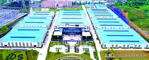 独山轴城产业园区全貌